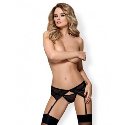 855-Gar-1 Garter Belt & Thong