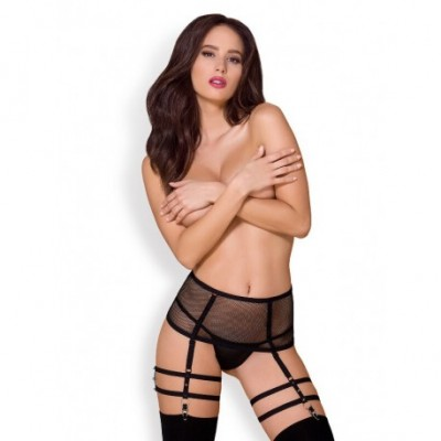 858-Gar-1 Garter Belt & Thong