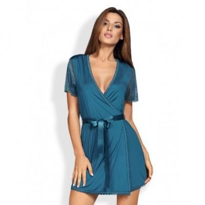 Miamor Robe & Thong Turquoise