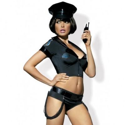 Déguisement De Femme Policière