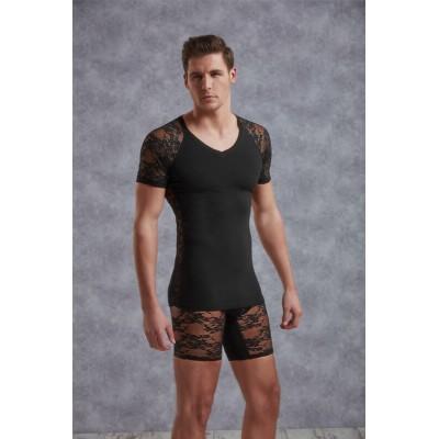 Doreanse Lace T-shirt for Men 2552