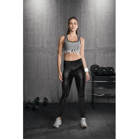 Leggings Sportif Noir Doreanse 8035