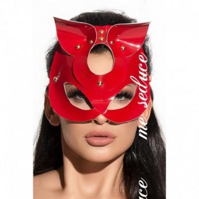 BDSM Kitty Mask MK 15 Red