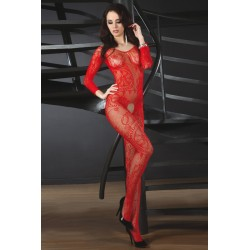ABRA BODYSTOCKING – RED