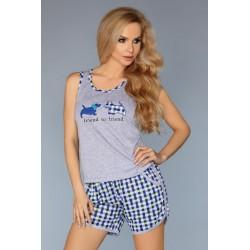 Pijama Modelo 720 – Azul