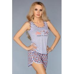 Pijama Modelo 720 – Laranja