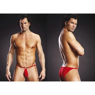 Blue Line Microfiber Pouch Bikini Red L/Xl