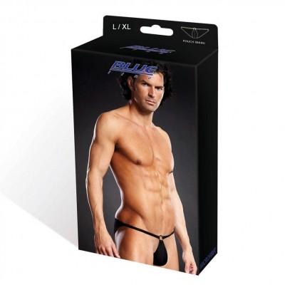 Blue Line Microfiber Pouch Bikini Black L/ Xl