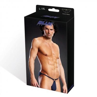 Blue Line Microfiber Pouch Bikini Blue L/ Xl