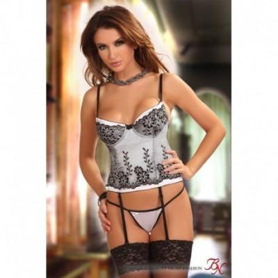 Chantall corset WHITE