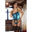 Michele corset turquoise