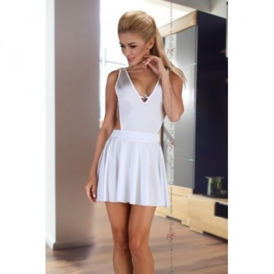 Mini Vestido Severine White